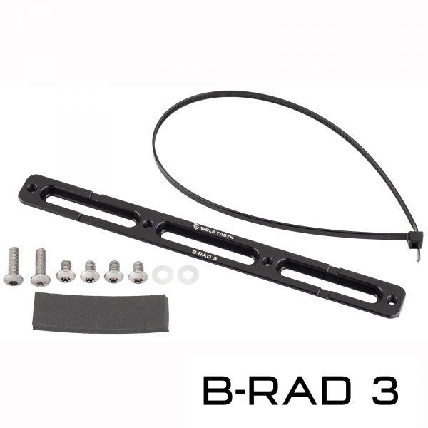 Plaque de montage Wolf Tooth B-Rad système