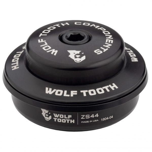 Wolf Tooth ZS44/28,6 Premium – Jeu de direction à roulement semi-intégré cuvette haute Noir ou Argent
