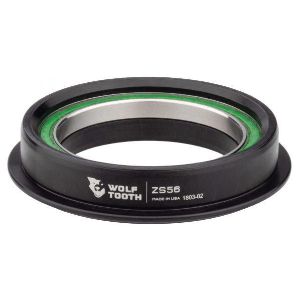 Wolf Tooth ZS56/40 Premium – Jeu de direction à roulement semi-intégrés cuvette basse Noir ou Argent
